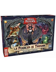 Hero Realms: La Perdición de Thandar Devir Familiar