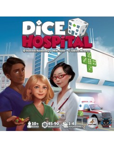 Dice Hospital Maldito Games Estrategia