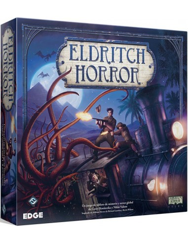 Pack Eldritch Horror + Saber Olvidado Edge Entertainment Packs