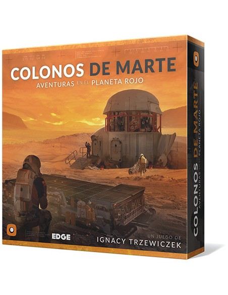 Colonos de Marte Edge Entertainment Temáticos