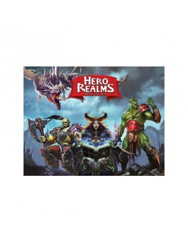 Pack Hero Realms + Sobres de Personaje + La Perdición de Thandar Devir Packs