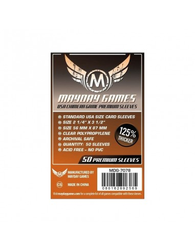 Fundas Mayday USA Chimera Premium 57,5x89 mm Mayday Games Fundas