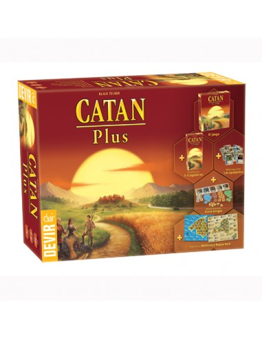 Catan Plus (Edición 2019) Devir Familiar
