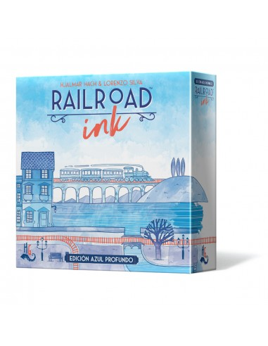 Railroad Ink: Edición Azul Profundo Horrible Games Familiar
