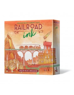 Railroad Ink: Edición Rojo Abrasador Horrible Games Familiar