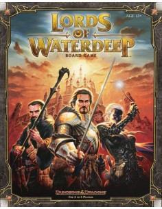 Lords of Waterdeep (English)  Estrategia