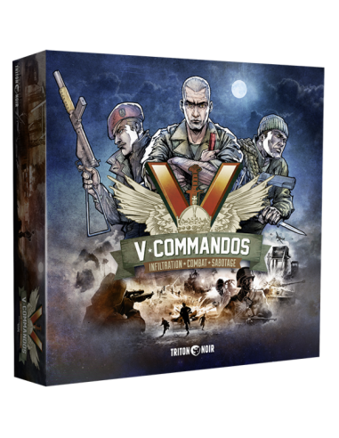 V-Commandos (English) Triton Noir Temáticos