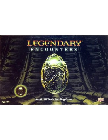 Legendary Encounters: An Alien Deck Building Game (English) Upper Deck Temáticos