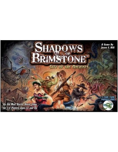 Shadows of Brimstone: City of the Ancients (English) Flying Frog Productions Temáticos