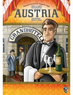 Grand Austria Hotel (English) Mayfair Games Estrategia