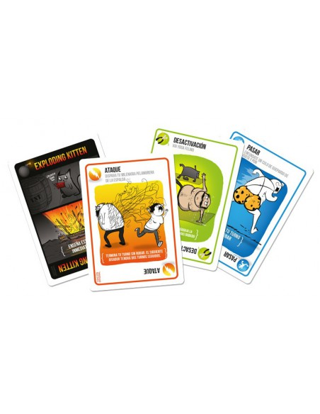 Exploding Kittens Asmodee Party