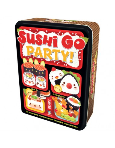 Sushi Go Party! Devir Familiar