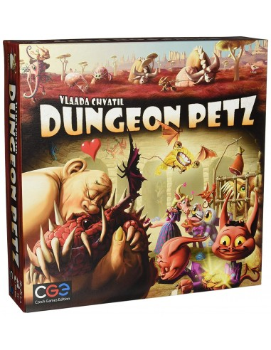 Dungeon Petz (English) Czech Games Edition Estrategia
