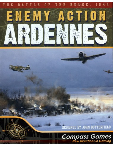Enemy Action: Ardennes (English) Compass Games Estrategia