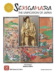 Sekigahara: The Unification of Japan (English) GMT Games Wargames