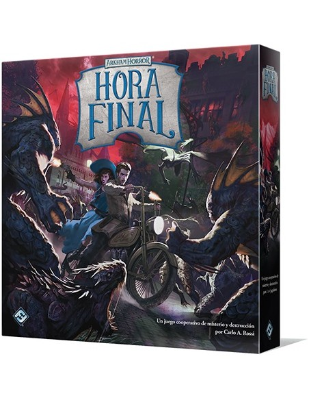 [Pre-venta 3T/2019] Arkham Horror: Hora Final Fantasy Flight Games Temáticos