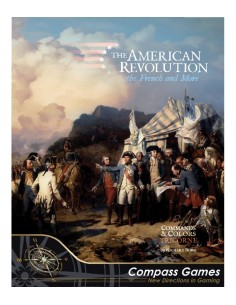 Command & Colors Tricorne: The American Revolution Expansion Kit 1 - The French & More (English) Compass Games Wargames