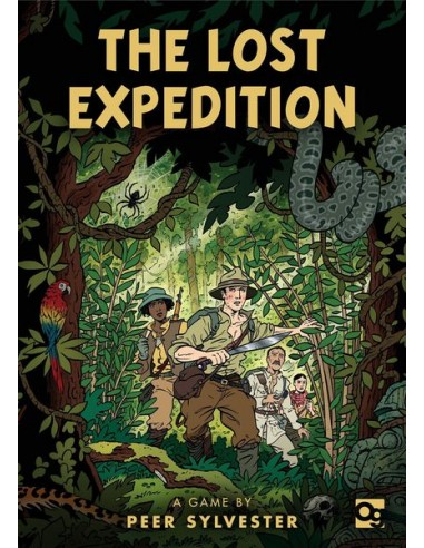 The Lost Expedition (English) Osprey Games Temáticos