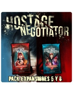 [Pre-venta 04/2019] Hostage: El Negociador Expansiones 5 y 6 Last Level Temáticos