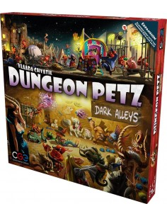 Dungeon Petz: Dark Alleys (English) Czech Games Edition Estrategia