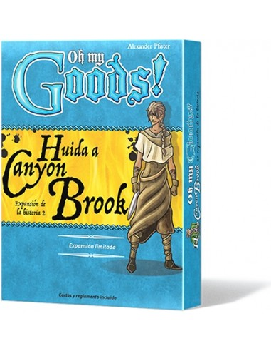 [Pre-venta 10/2019] Oh My Goods!: Huida a Canyon Brook Asmodee Estrategia