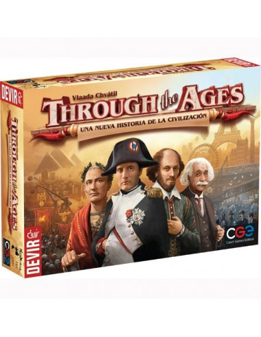Through the Ages: Una Nueva Historia de la Civilización Devir Estrategia