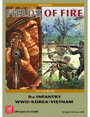 Fields of Fire (2nd Edition) (English) GMT Games Wargames