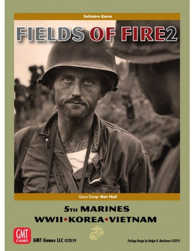 Fields of Fire Vol. II: ''With The Old Breed'' (English) GMT Games Wargames