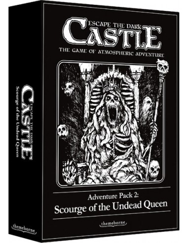Escape the Dark Castle: Adventure Pack 2 - Scourge of the Undead Queen (English) Themeborne Temáticos