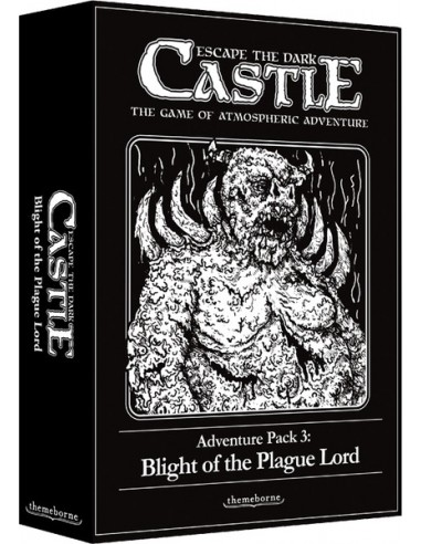 Escape the Dark Castle: Adventure Pack 3 - Blight of the Plague Lord (English) Themeborne Temáticos