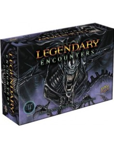 Legendary Encounters: An Alien Deck Building Game Expansion (English) Upper Deck Temáticos