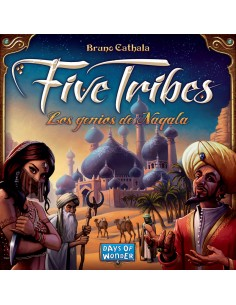 Five Tribes Maldito Games Estrategia