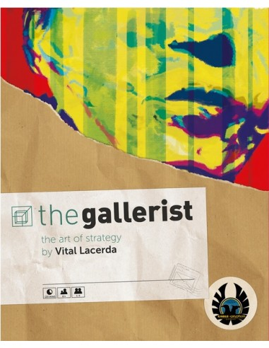 The Gallerist: Includes Scoring Expansion (English) Eagle-Gryphon Estrategia