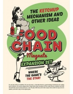 Food Chain Magnate: The Ketchup Mechanism & Other Ideas (English) Splotter Estrategia