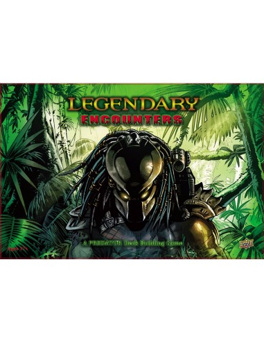 Legendary Encounters: A Predator Deck Building Game (English) Upper Deck Temáticos