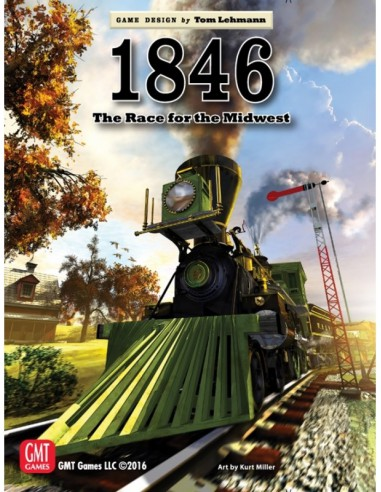 1846: The Race for the Midwest (English) GMT Games Estrategia