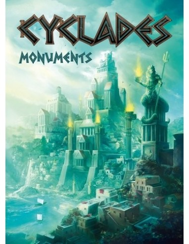 Cyclades: Monuments Asmodee Estrategia
