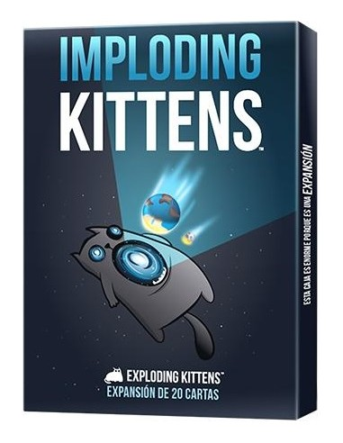 Imploding Kittens Asmodee Party
