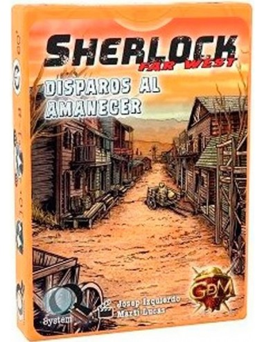 Sherlock Far West: Disparos al Amanecer GDM Games Temáticos