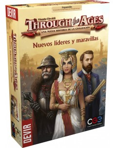 [Pre-venta 13/07/2020] Through the Ages: Nuevos Líderes y Maravillas Devir Estrategia