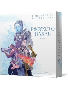 Pack T.I.M.E. Stories Revolution: Proyecto Hadal + Experiencia Asmodee Packs