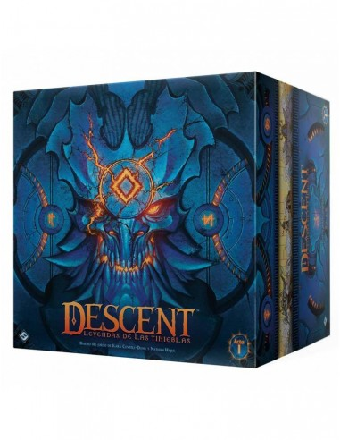 [Pre-venta 05/2021] Descent: Leyendas de las Tinieblas Fantasy Flight Games Temáticos