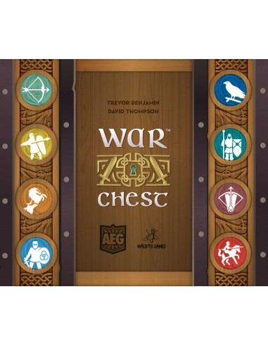 War Chest Maldito Games Abstractos