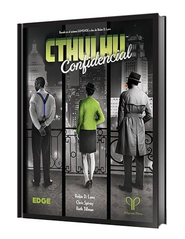 Cthulhu Confidential Edge Entertainment Rol