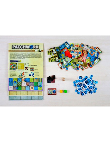 Patchwork Maldito Games Familiar