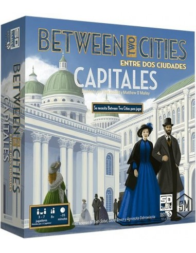 Between Two Cities: Capitales SD Games Familiar