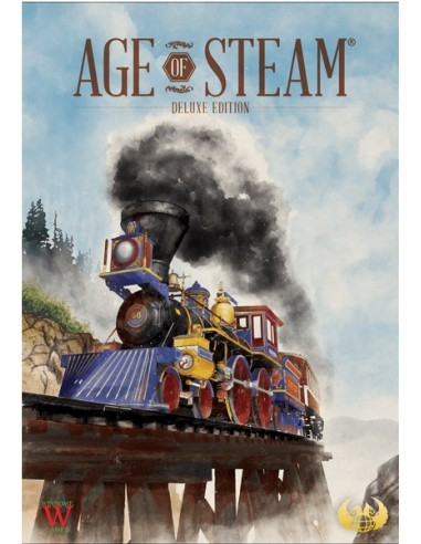 Age of Steam Deluxe Edition (English) Eagle-Gryphon Estrategia