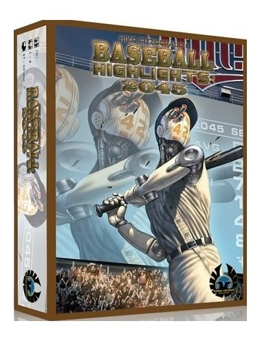 Baseball Highlights 2045 Super Deluxe Includes all 7 Expansions (English) Eagle-Gryphon Estrategia