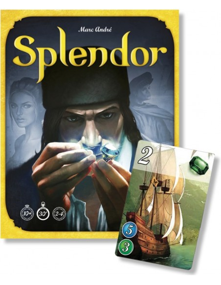 Splendor Asmodee Familiar