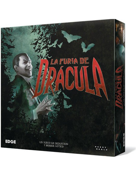La Furia de Drácula Edge Entertainment Temáticos